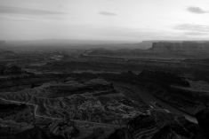Canyonland B&W
