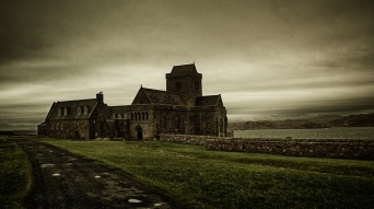 The famous Iona Abbey