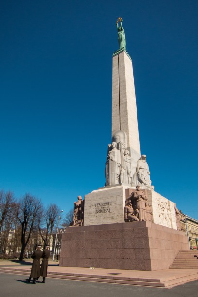 The symbol of Latvia's independence, the Freedom Monument is truly a symbol of the country.