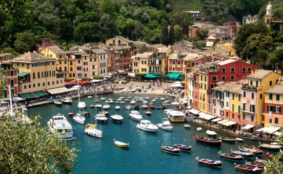 "Italian for ""Nice Port"", Portofino is a fitting name."